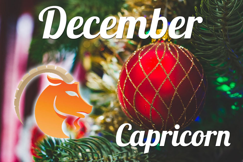 Capricorn horoscope December