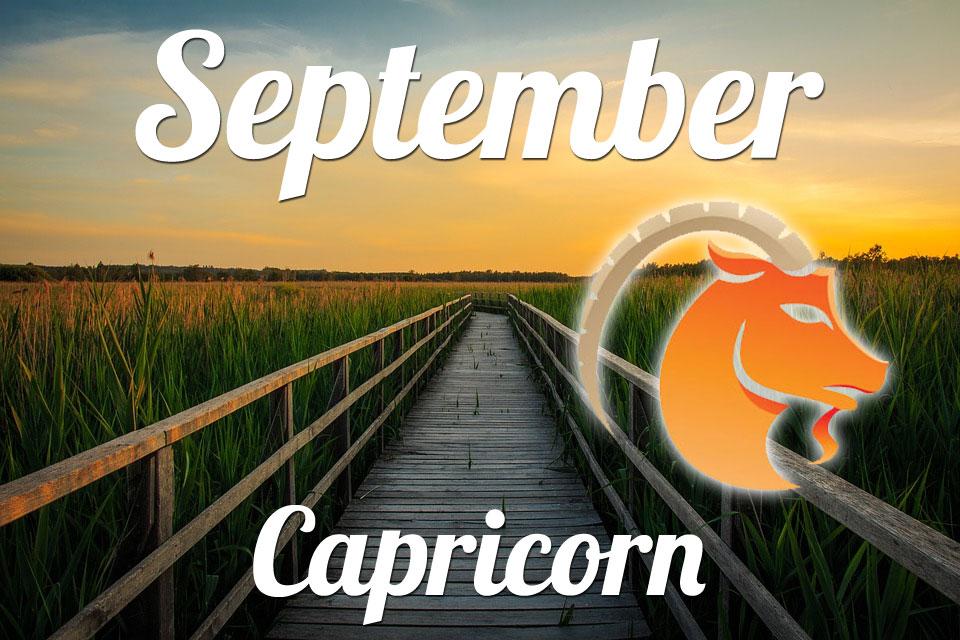 Capricorn horoscope September