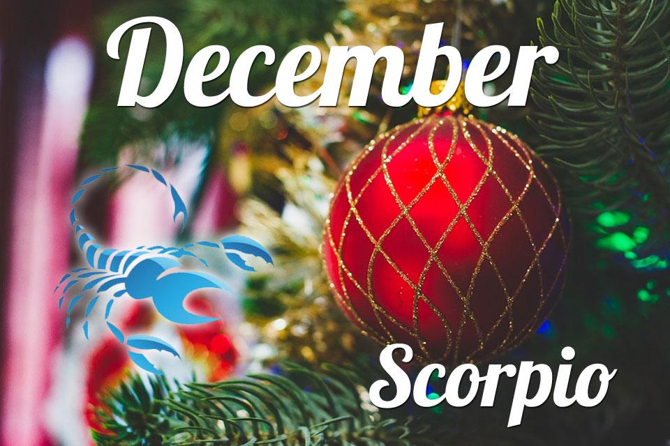 Horoscope Scorpio December 2020