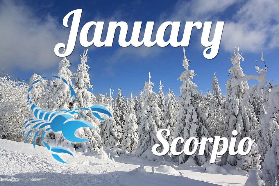 Scorpio horoscope January