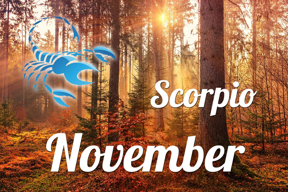 Scorpio horoscope November