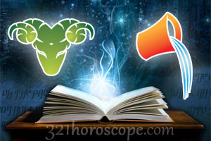 Aries and Aquarius horoscope
