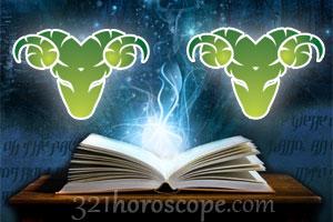 Aries + Aries horoscope