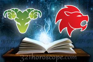 Aries + Leo horoscope
