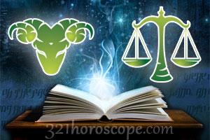 Aries + Libra horoscope