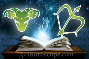 Aries and Sagillarius horoscope