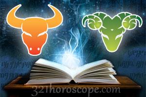 Taurus and Aries horoscope