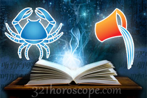 Cancer and Aquarius horoscope