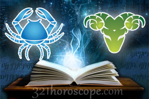Cancer and Aries horoscope