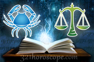 Cancer and Libra horoscope