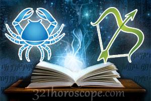 Cancer and Sagittarius horoscope