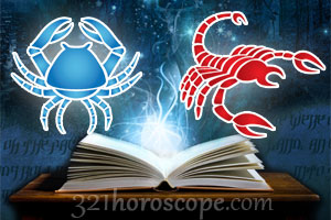 Cancer and Scorpio horoscope