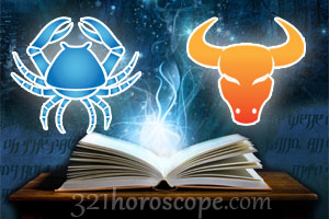 Cancer and Taurus love horoscope