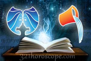 Gemini and Aquarius horoscope