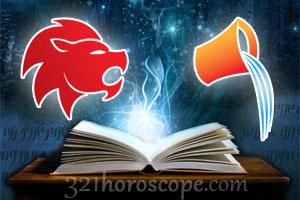Leo and Aquarius love horoscope