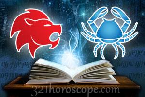 Leo and Cancer love horoscope