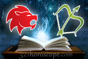 Leo and Sagittarius love horoscope