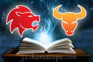 Leo and Taurus love horoscope