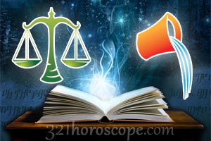 Libra and Aquarius love horoscope