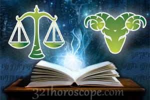 Libra and Aries love horoscope