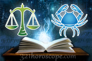 Libra and Cancer love horoscope