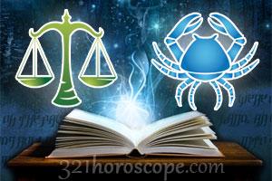 Libra and Cancer love horoscope