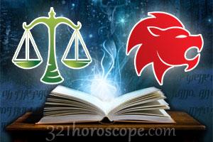Libra and Leo love horoscope
