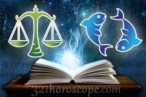 Libra and Pisces love horoscope