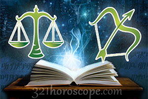 Libra and Sagittarius love horoscope