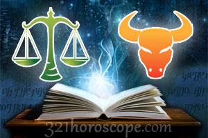 Libra and Taurus love horoscope