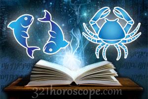Love horoscope pisces cancer