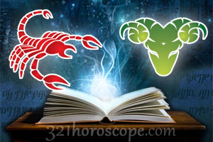 Scorpio and Aries love horoscope