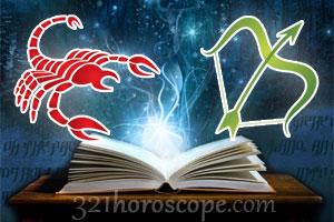 Scorpio and Sagittarius love horoscope