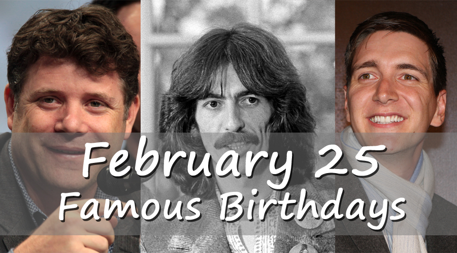 Today's top celebrity birthdays list for February 19, 2019 ...