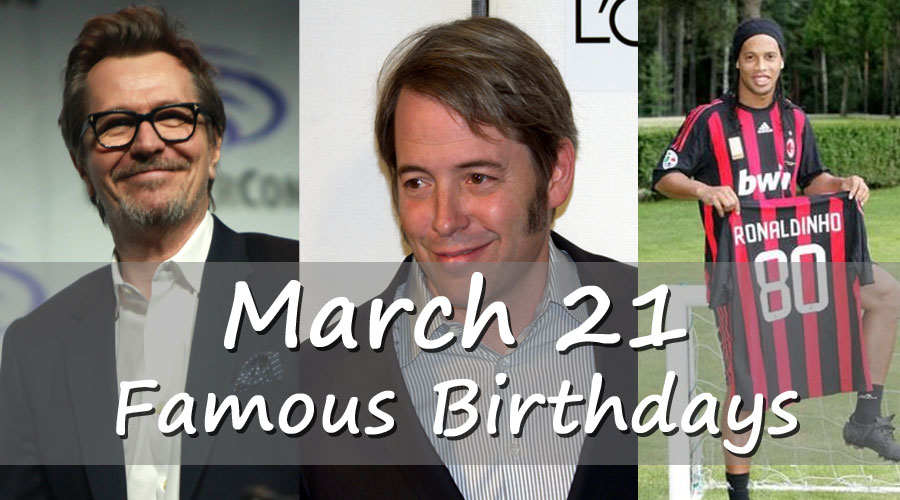 Famous People's Birthdays, March, South Africa Celebrity ...
