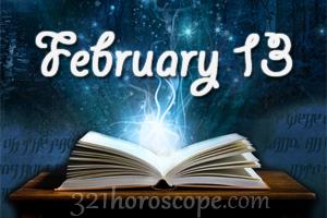 horoscope for february 13 2020 birthday