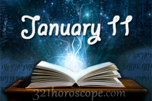horoscope today birthday 11 january