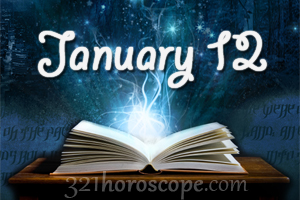 today 12 january birthday horoscope