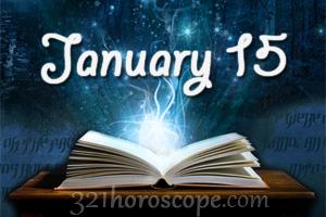 January 15 Birthday Astrology