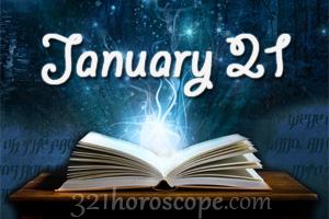 january 21 astrology tlc