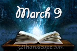 Horoscope march 9 2016