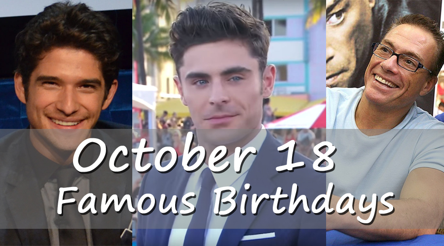 Famous People's Birthdays, October 18, India Celebrity ...
