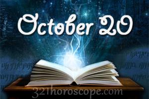 horoscope october 20 sign