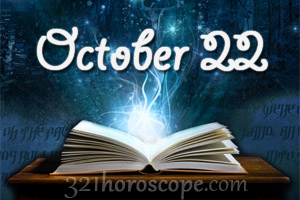 todays 22 october birthday horoscope