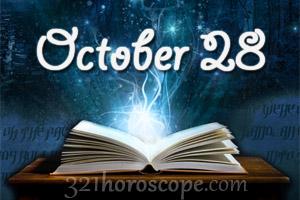 october 28 sign of horoscope