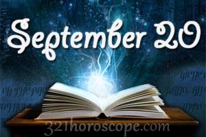 horoscope for sept 20 birthday