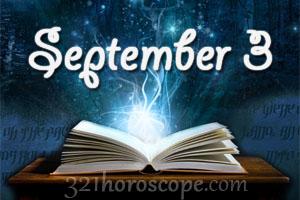 horoscope for sept 3 birthday