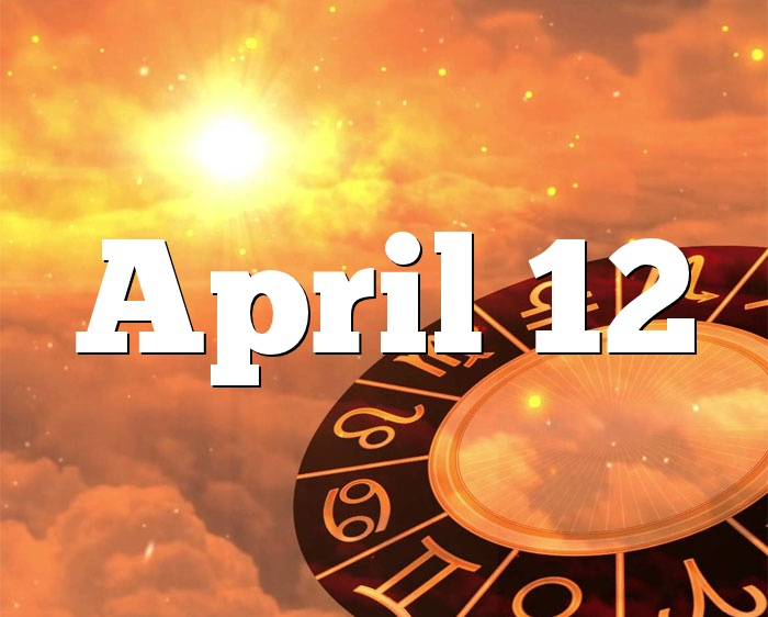 April 12