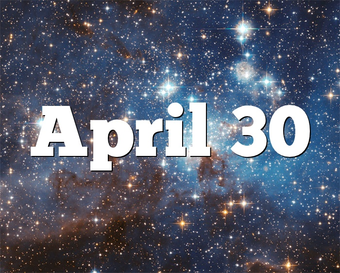 30. April