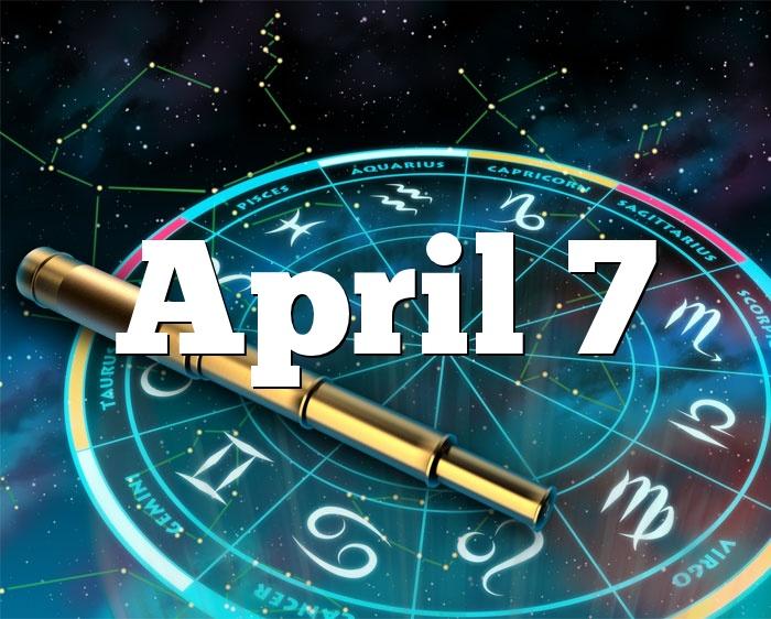 April 7